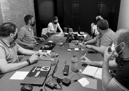 Reunión de estrategia de GeeksHubs