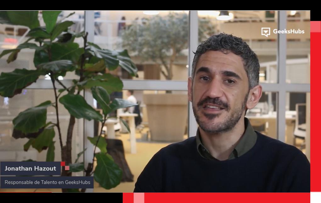 Jonathan Hazout, responsable de Talento en GeeksHubs