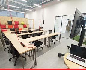 Sede de GeeksHubs Academy en Madrid